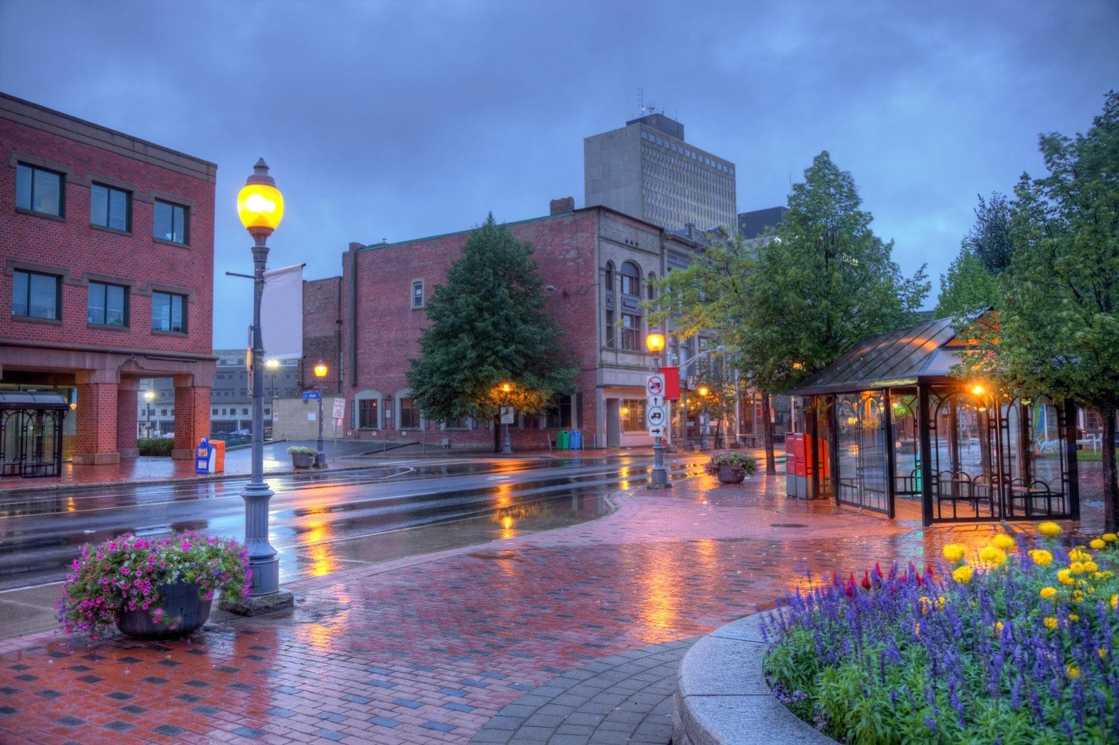 Centre ville de Moncton